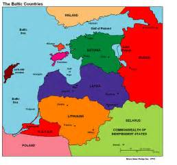 Baltic States Map by Pics Photos Map Of The Baltic States