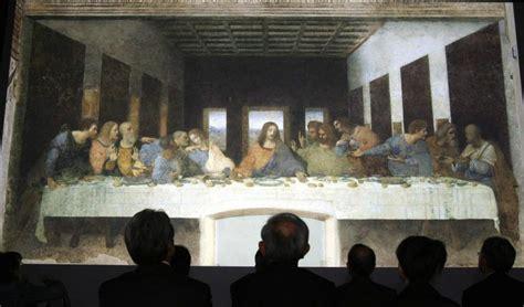 cuadro la ultima cena da vinci revelan el secreto oculto en la 218 ltima cena de da