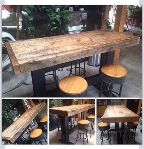 high pub dining table farm style high top pub table dining harvest by