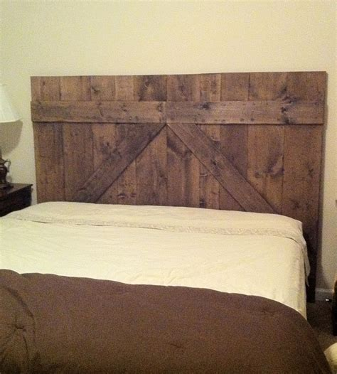 barn door bed wooden barn door headboard queen size