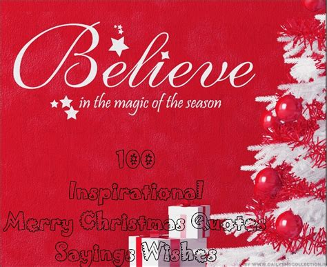 top  inspirational merry christmas quotes sayings wishes