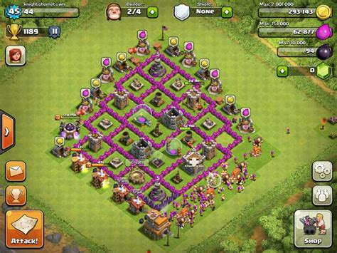 offensive layout in coc clash of clans builder 10 best layout strategies