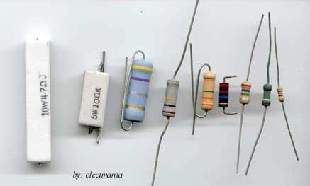 resistor watt besar dasar dasar elektronika menguji tahanan resistor