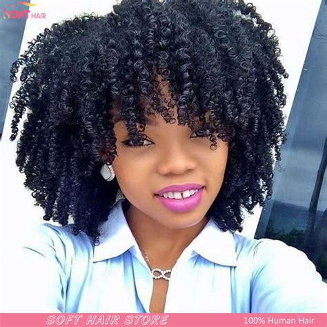 short kinky colored hair short kinky curly afro wigs realistic lace front wig