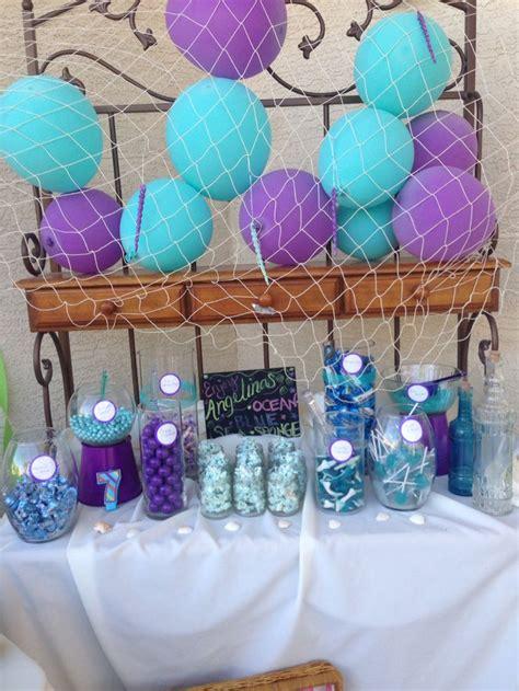 mermaid candy bar  mermaid party pinterest mermaid parties