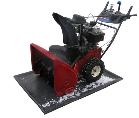 Snowblower Mat by The Containment Mat The Containment Mat Store