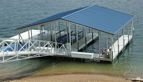 aluminum boat docks flotation systems gable roof boat dock gallery flotation