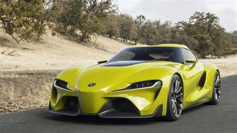 yellow toyota toyota ft 1 concept colored cars