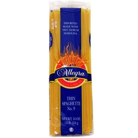 Allegra Thin Spaghetti Pasta Case Pack 20 Just $32.95