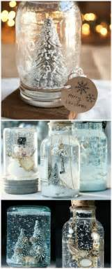 christmas decorations you can make at home personalized snow globe 12 magnificent mason jar