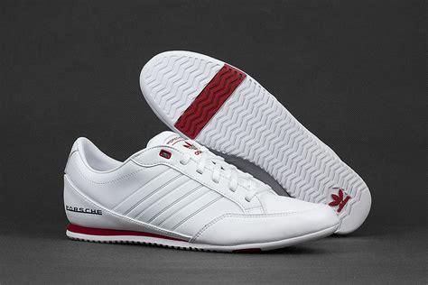 Porsche Design Adidas Trainers by Mens Adidas Porsche Speedster Sport White Red Leather
