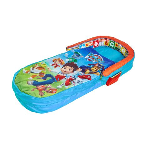 children s inflatable bed kids readybeds inflatable bed sleepover camping disney cars paw patrol more