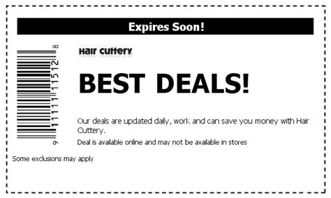 haircut coupons hair cuttery hair cuttery coupons save w 2015 coupons coupons