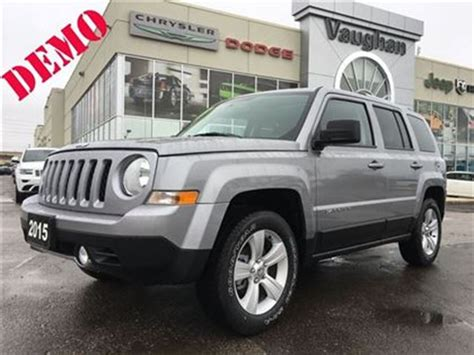 jeep patriot grey 2016 2016 jeep patriot 1 owner 4x4 only 2132 kms