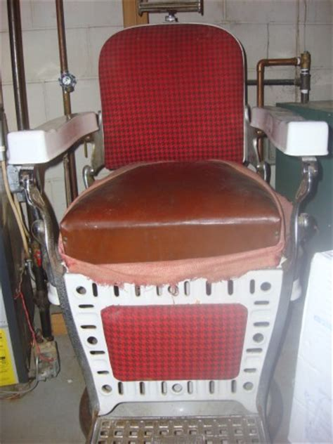 How To Reupholster A Barber Chair by Emil J Paidar Porcelain Chair