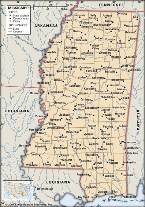 map of mississippi mississippi cities encyclopedia children s
