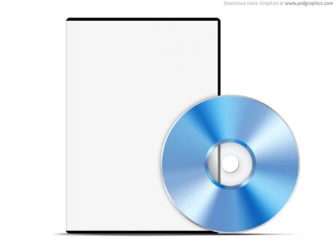 Blank White Case With Dvd Psd Web Template 30 2468 Jpg Dvd Packaging Template