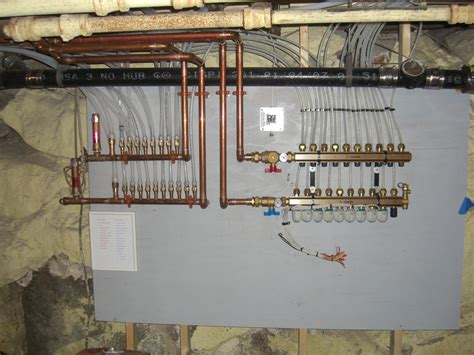 Manifold Plumbing by Residential And Commercial Plumbing And Heating Bellingham
