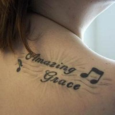 grace tattoo designs amazing grace