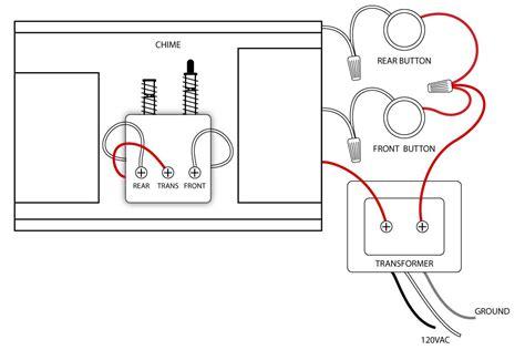 doorbell wiring diagrams doorbell house