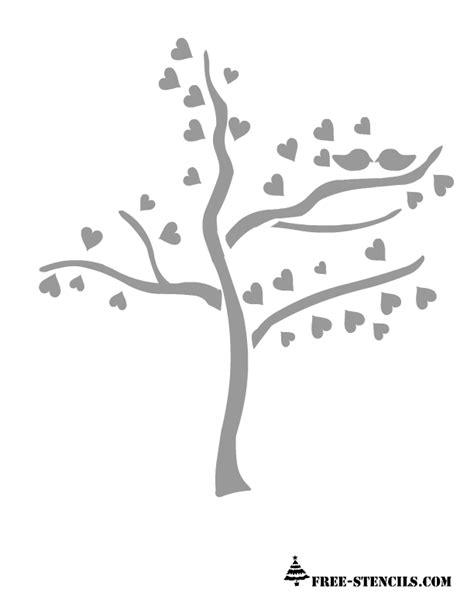 tree stencil free free printable stencils