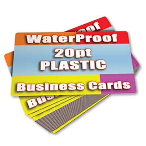 Code 3 Products Business Cards plastic bc info
