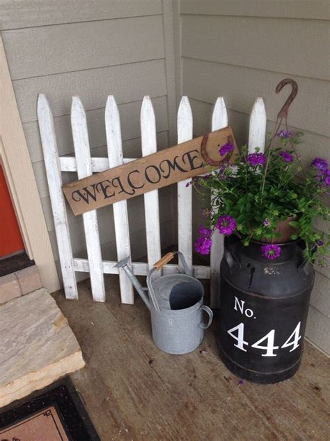 Homemade Halloween Decoration by 25 Diy Decorating Ideas To Quot Spring Quot Up Your Front Porch