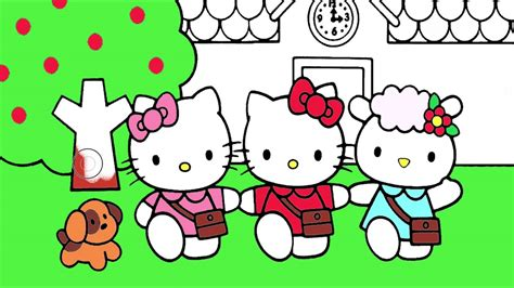hello kitty coloring pages youtube hello kitty coloring page 2 little hands coloring book