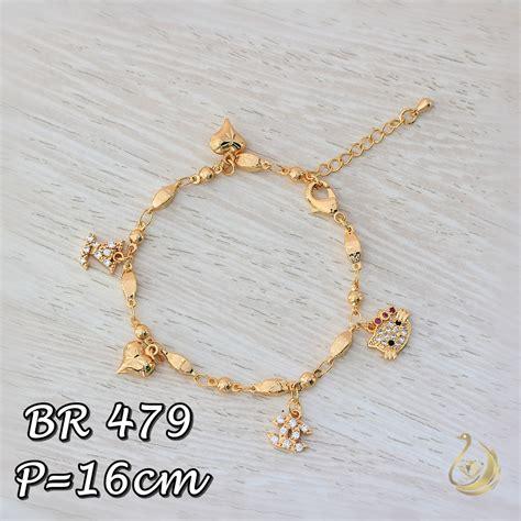 Set Xuping Gelang Cincin 24 perhiasan hello emas pusat perhiasan hello