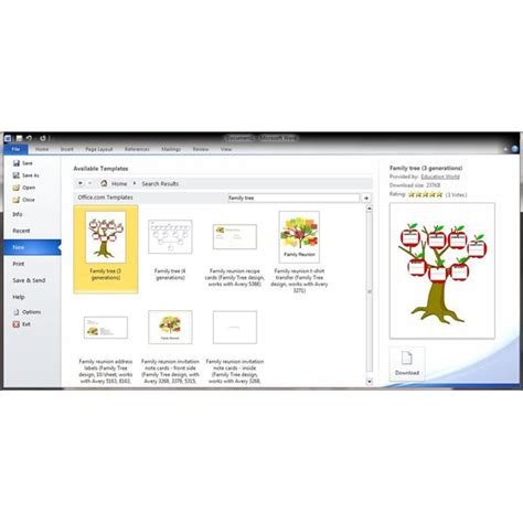 product tree template guide to finding a genealogy template for word