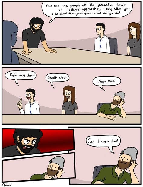 Conference Room Meme - dnd boardroom boardroom suggestion know your meme