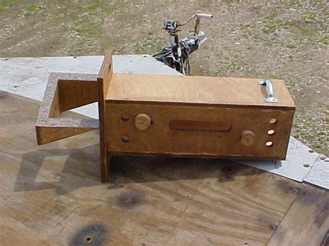 Log Cabin Dovetail Jig compound dovetail jig for log cabin timbers by mjmeers