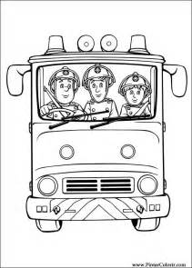 drawings paint amp colour fireman sam print design 024