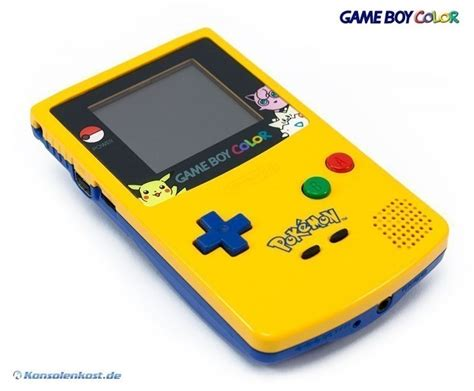 top gameboy color gameboy color console limited yellow blue