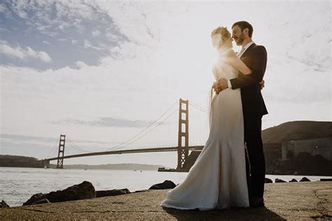 wedding bridge golden gate bridge wedding kevin green