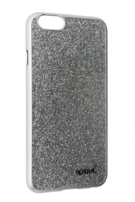 Gelitar Iphone 6 glitter iphone 6 6s silver sprout accessories