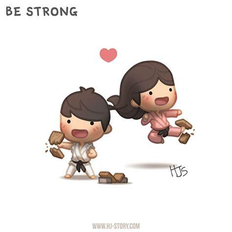 Hj Story 2 be strong by hjstory on deviantart