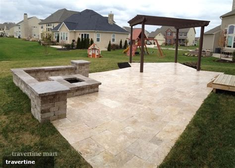 small  effective ways travertine pavers  elevate