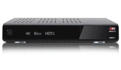 Kabel Hd Receiver Mit Festplatte 154 by Ax 4k Box Hd51 Uhd 2160p Linux E2 Kabel Receiver 1x Dvb C T2