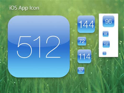ios app template free 15 ios app icon templates the design work