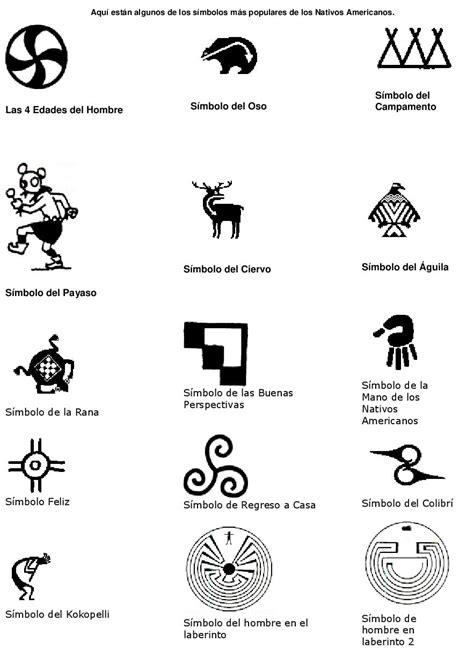 imagenes de simbolos indigenas indios americanos historia caracter 237 sticas vestimenta