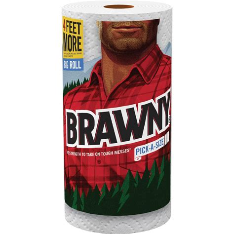 Who Makes Brawny Paper Towels - pacific brawny a size paper towels