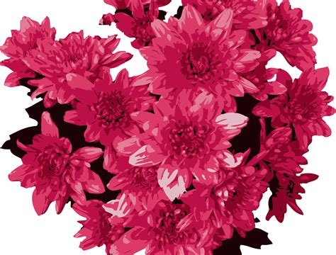 Small Office Decoration by Clipart Red Flowers