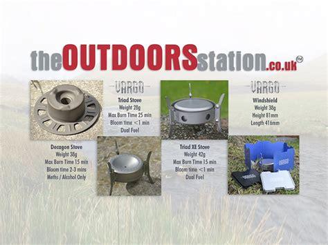 vargo outdoors titanium decagon stove the vargo titanium stove range decagon triad