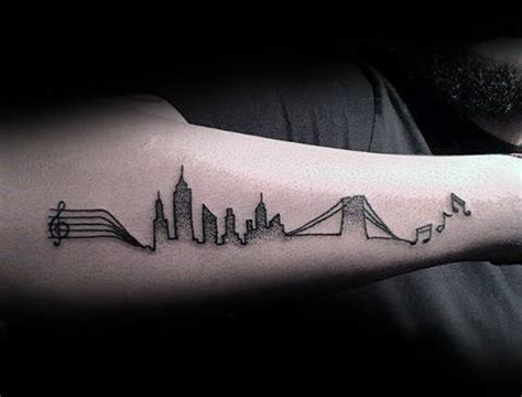 mens music tattoo designs 75 note tattoos for auditory ink design ideas