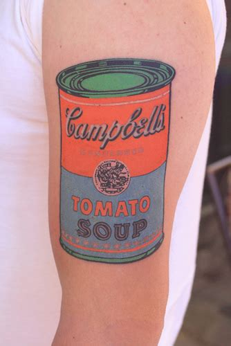 andy warhol tattoo 20 amazing artist inspired tattoos flavorwire