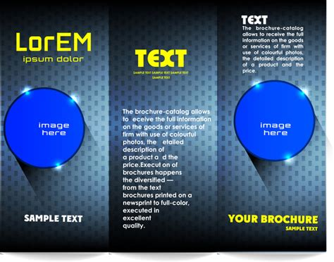 free adobe illustrator brochure templates adobe illustrator brochure templates free trifold brochure