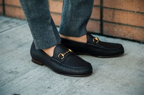 Sepatu Model Mr Joe Slip On Black loafers image polka dot