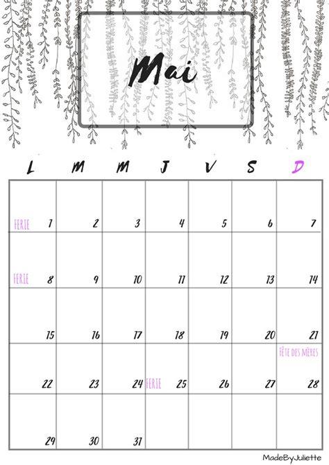 calendrier mai 2017 imprimes le calendrier pour