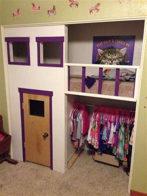 the 25 best ideas about closet playhouse on